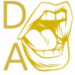 "Darin Allen's ""Let's Talk About It."" logo"